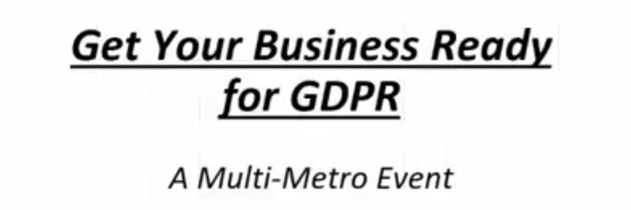 Get your business ready for GPR
